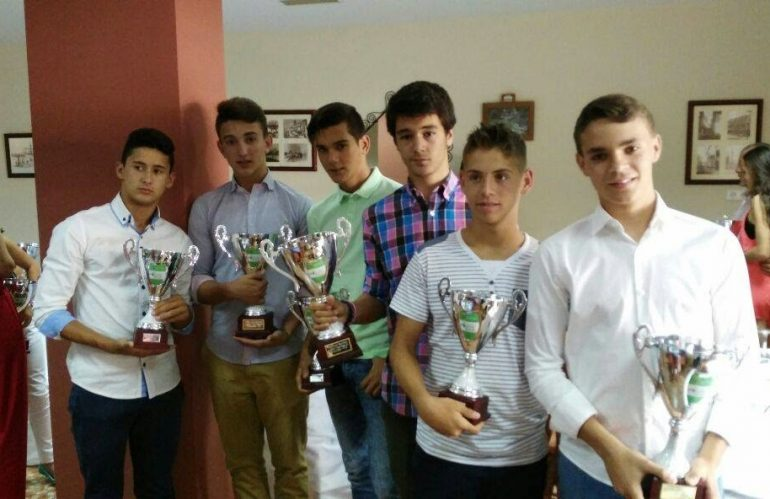 Trofeos en Écija