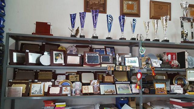 Trofeos en Sevilla