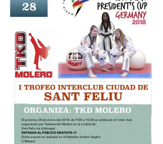 Trofeos en Sant Feliu de Llobregat