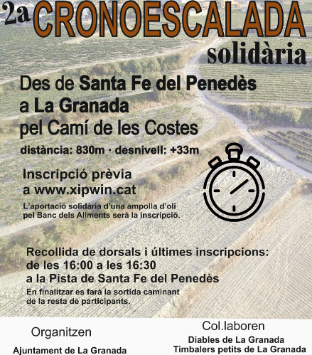 Trofeos en Santa Fe del Penedès